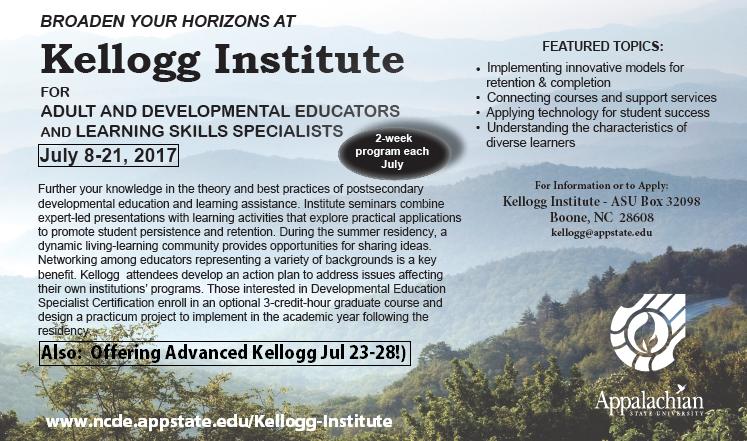 Kellogg Institute half page ad 2017